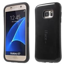 Zwart Hybrid Hoesje Samsung Galaxy S7