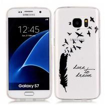 Dare to Dream TPU Hoesje Samsung Galaxy S7