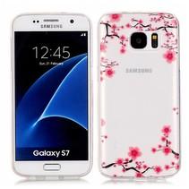 Bloesem TPU Hoesje Samsung Galaxy S7