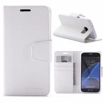 Sonata Wit Bookcase Hoesje Samsung Galaxy S7