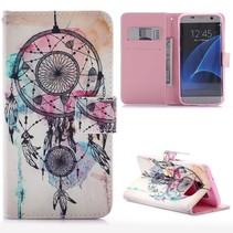 Dreamcatcher Bookcase Hoesje Samsung Galaxy S7