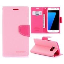Diary Roze Bookcase Hoesje Samsung Galaxy S7