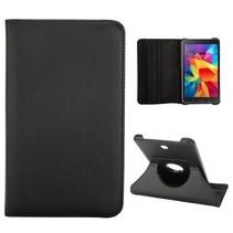 Zwarte 360 graden hoes Samsung Galaxy Tab 4 7.0