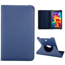 Blauwe 360 graden hoes Samsung Galaxy Tab 4 7.0