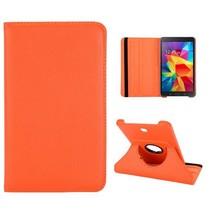 Oranje 360 graden hoes Samsung Galaxy Tab 4 7.0