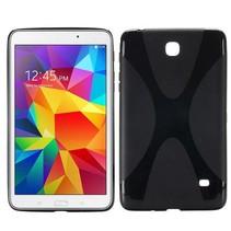 Zwarte x-design TPU hoes Samsung Galaxy Tab 4 7.0
