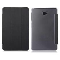 Zwarte Trifold Hoes Samsung Galaxy Tab A 10.1