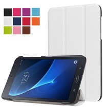 Witte Trifold Hoes Samsung Galaxy Tab A 7.0