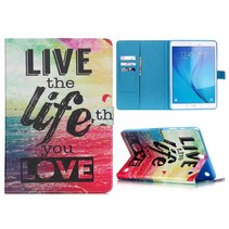 Life quote flipstand hoes Samsung Galaxy Tab A 9.7
