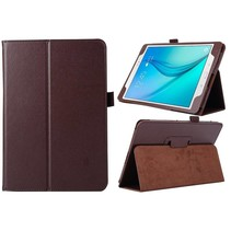 Bruine flipstand hoes Samsung Galaxy Tab A 9.7