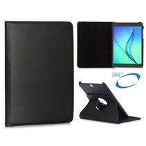 Zwarte 360 graden hoes Samsung Galaxy Tab A 9.7