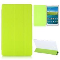 Groene tri-fold hoes Samsung Galaxy Tab S 8.4