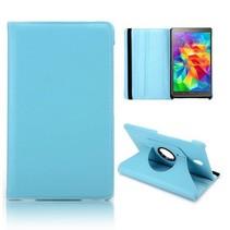 Lichtblauwe 360 graden hoes Samsung Galaxy Tab S 8.4