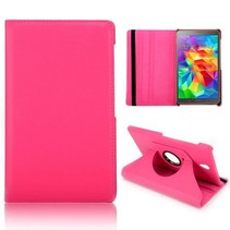 Roze 360 graden hoes Samsung Galaxy Tab S 8.4
