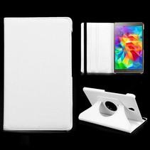 Witte 360 graden hoes Samsung Galaxy Tab S 8.4
