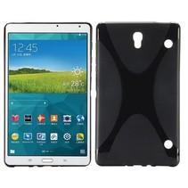 Zwarte x-design TPU hoes Samsung Galaxy Tab S 8.4