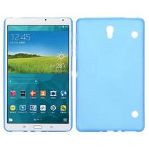 Blauwe x-design TPU hoes Samsung Galaxy Tab S 8.4