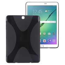 Zwarte x-design TPU hoes Samsung Galaxy Tab S2 9.7