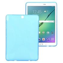 Blauwe x-design TPU hoes Samsung Galaxy Tab S2 9.7