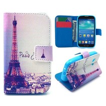 Parijs Bookcase hoes Samsung Galaxy Young 2