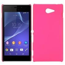 Roze hardcase hoesje Sony Xperia M2