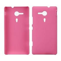 Hardcase hoesje roze Sony Xperia SP