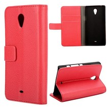 Rood lychee Booktype  hoesje Sony Xperia T