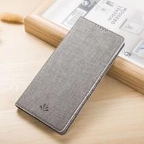 Grijs Slim Bookcase Hoesje Sony Xperia XA Ultra