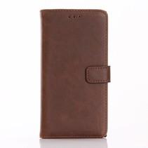 Bruin Bookcase Hoesje Sony Xperia XZ