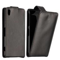 Zwart Flip Case hoesje Sony Xperia Z2