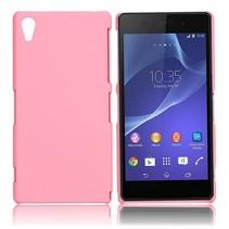 Mat roze hardcase hoesje Sony Xperia Z2