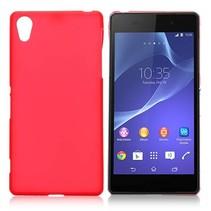 Rood TPU hoesje Sony Xperia Z2