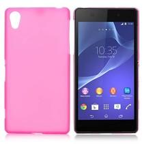 Roze TPU hoesje Sony Xperia Z2