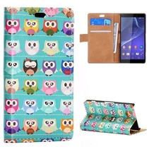 Uiltjes Bookcase hoes Sony Xperia Z3 Compact