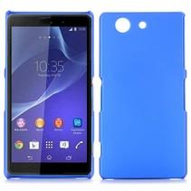 Blauwe hardcase hoesje Sony Xperia Z3 Compact