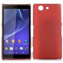 Rode hardcase hoesje Sony Xperia Z3 Compact