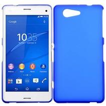Blauwe TPU hoesje Sony Xperia Z3 Compact