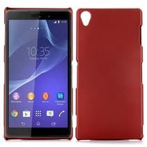 Rood hardcase hoesje Sony Xperia Z3