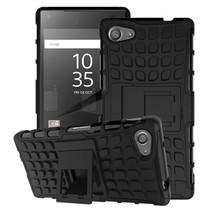 Zwart Hybrid Hoesje Sony Xperia Z5 Compact