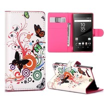 Vlinders Bookcase Hoesje Sony Xperia Z5 Compact