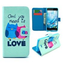 Owl love Bookcase hoes Wiko Getaway