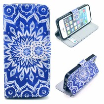 Mandala Bookcase hoesje iPhone 5 / 5s / SE