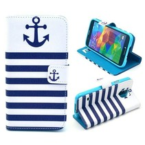 Anchor blue stripes 3-in-1 hoes Galaxy S5 / Plus / Neo