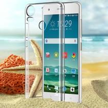 Hardcase Hoesje HTC Desire 10 Pro - Transparant