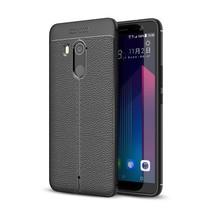 TPU Hoesje HTC U11+ - Zwart