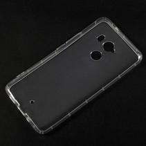 TPU Hoesje HTC U11+ - Transparant