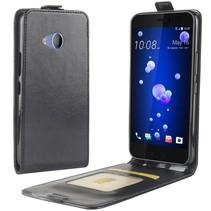 Flipcase Hoesje HTC U11 Life - Zwart