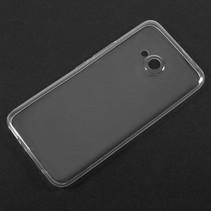 TPU Hoesje HTC U11 Life - Transparant