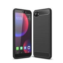 TPU Hoesje HTC Desire 12 - Zwart