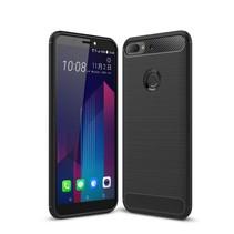TPU Hoesje HTC Desire 12 Plus - Zwart